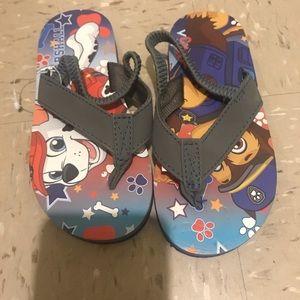 Other - Paw patrol flip flops